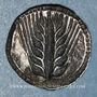 Monnaies Lucanie. Métaponte. Drachme. Vers 540-510 av. J-C