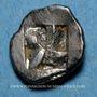 Monnaies Marseille. Hémiobole milésiaque à la tête de lion, 500-470 av. J-C. Type du trésor d'Auriol