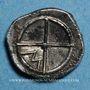 Monnaies Marseille. Obole de style indigène, 425-400 av. J-C