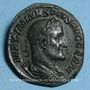 Monnaies Maximin I Thrax (235-238). Sesterce. Rome, 236-238. R/: la Fidélité