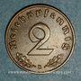 Monnaies 3e Reich (1933-1948). 2 reichspfennig 1937 D