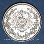Monnaies Allemagne. 1/2 mark 1905G