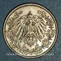Monnaies Allemagne. 1/2 mark 1906 G