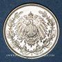 Monnaies Allemagne. 1/2 mark 1906E