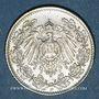 Monnaies Allemagne. 1/2 mark 1916D