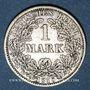 Monnaies Allemagne. 1 mark 1875A