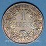 Monnaies Allemagne. 1 mark 1910 A