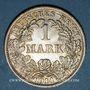 Monnaies Allemagne. 1 mark 1914 F