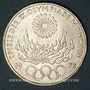 Monnaies Allemagne. 10 mark 1972 D. Jeux olympiques. Flamme