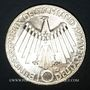 Monnaies Allemagne. 10 mark 1972 D. Jeux olympiques. Spirale,  in Deutschland