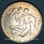 Monnaies Allemagne. 10 mark 1972 D. Jeux olympiques. Sportif et sportive