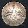 Monnaies Allemagne. 10 mark 1972 D. Jeux olympiques, Symbole d'union