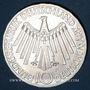 Monnaies Allemagne. 10 mark 1972 F. Jeux olympiques. Spirale, in München