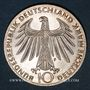 Monnaies Allemagne. 10 mark 1972 F. Jeux olympiques. Sportif et sportive