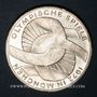 Monnaies Allemagne. 10 mark 1972 F. Jeux olympiques, Symbole d'union
