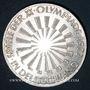 Monnaies Allemagne. 10 mark 1972 G. Jeux olympiques. Spirale,  in Deutschland