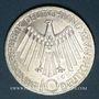 Monnaies Allemagne. 10 mark 1972 G. Jeux olympiques. Spirale, in München