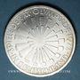 Monnaies Allemagne. 10 mark 1972 J. Jeux olympiques. Spirale,  in Deutschland