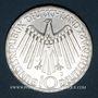 Monnaies Allemagne. 10 mark 1972 J. Jeux olympiques. Spirale, in München