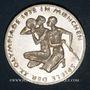 Monnaies Allemagne. 10 mark 1972F. Jeux olympiques. Sportif et sportive