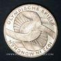 Monnaies Allemagne. 10 mark 1972F. Jeux olympiques, Symbole d'union