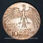 Monnaies Allemagne. 10 mark 1972G. Jeux olympiques. Stade