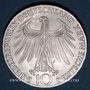 Monnaies Allemagne. 10 mark 1972J. Jeux olympiques. Sportif et sportive