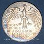 Monnaies Allemagne. 10 mark 1972J. Jeux olympiques. Stade