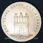 Monnaies Allemagne. 10 mark 1989 J. Port de Hambourg