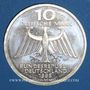 Monnaies Allemagne. 10 mark 1995 D. Wilhelm Conrad Röntgen