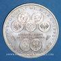 Monnaies Allemagne. 10 mark 1998 F. 50 ans du Deutsche Mark