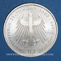 Monnaies Allemagne. 10 mark 2000 G. Cathédrale d'Aix-la-Chapelle