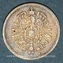Monnaies Allemagne. 20 pfennig 1874F