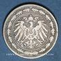 Monnaies Allemagne. 20 pfennig 1890 D