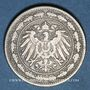 Monnaies Allemagne. 20 pfennig 1890D