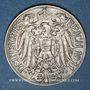 Monnaies Allemagne. 25 pfennig 1911D