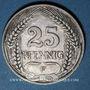 Monnaies Allemagne. 25 pfennig 1912 F