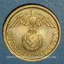 Monnaies Allemagne. 3e Reich (1933-1948). 10 reichspfennig 1939G