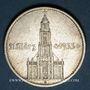 Monnaies Allemagne. 3e reich. 5 reichsmark 1934G, avec date