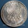 Monnaies Allemagne. 5 mark 1974F. La Constitution (Grundgesetz)