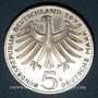 Monnaies Allemagne. 5 mark 1975 G. Albert Schweitzer