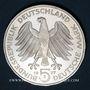 Monnaies Allemagne. 5 mark 1977J. Charles Frédéric Gauss