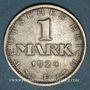 Monnaies Allemagne. République de Weimar. 1 mark 1924F