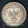 Monnaies Allemagne. République de Weimar. 3 reichsmark 1927 A. Port de Brême