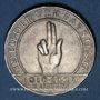 Monnaies Allemagne. République de Weimar. 3 reichsmark 1929 J. Verfassung
