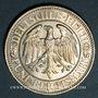 Monnaies Allemagne. République de Weimar. 5 reichsmark 1927 A. Tilleul