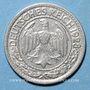 Monnaies Allemagne. République de Weimar. 50 reichspfennig 1928 A