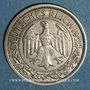 Monnaies Allemagne. République de Weimar. 50 reichspfennig 1928 G