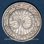 Monnaies Allemagne, République de Weimar, 50 reichspfennig 1928D