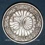 Monnaies Allemagne. République de Weimar. 50 reichspfennig 1929 A